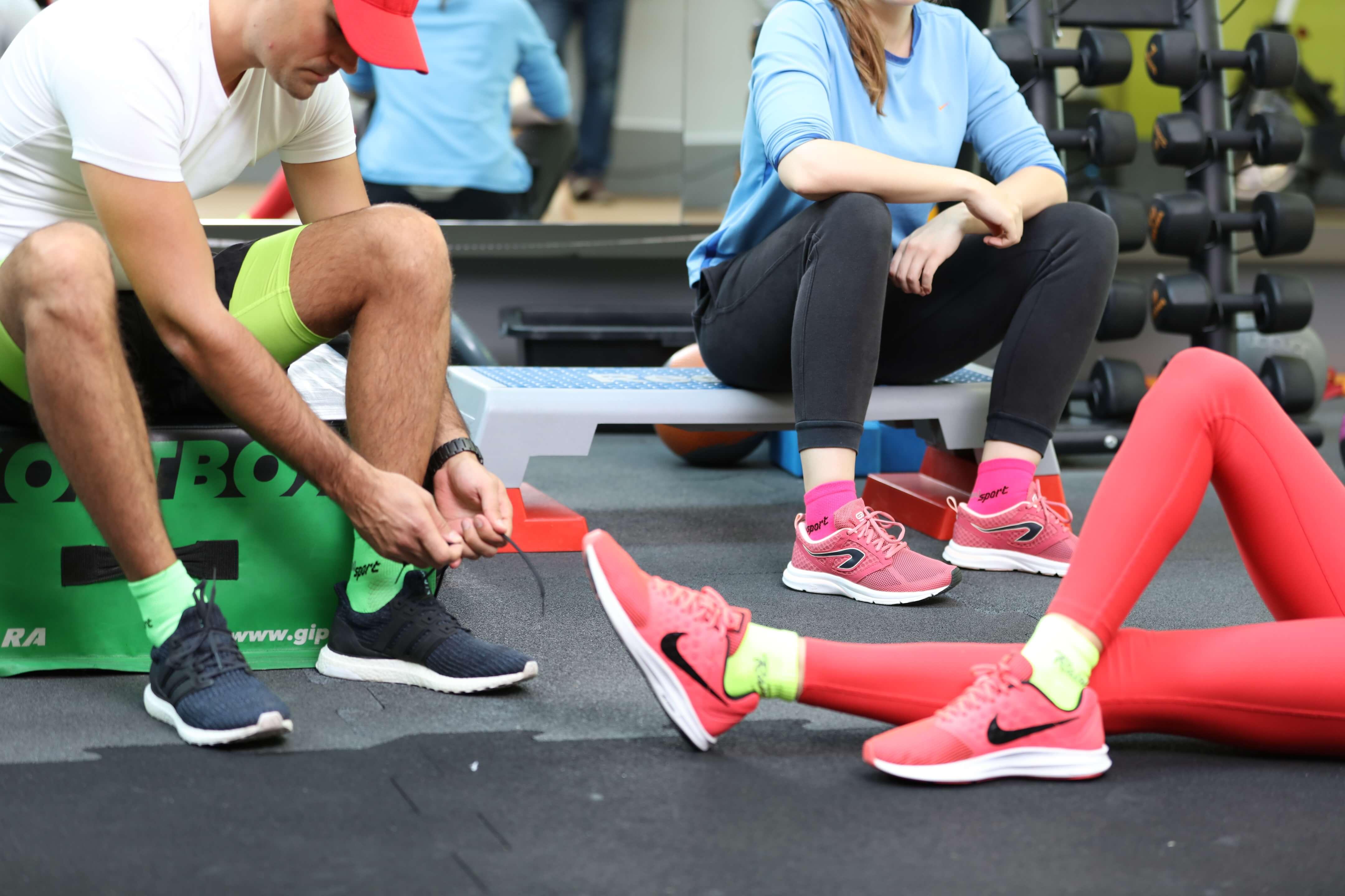 Neo Rainbow Socks