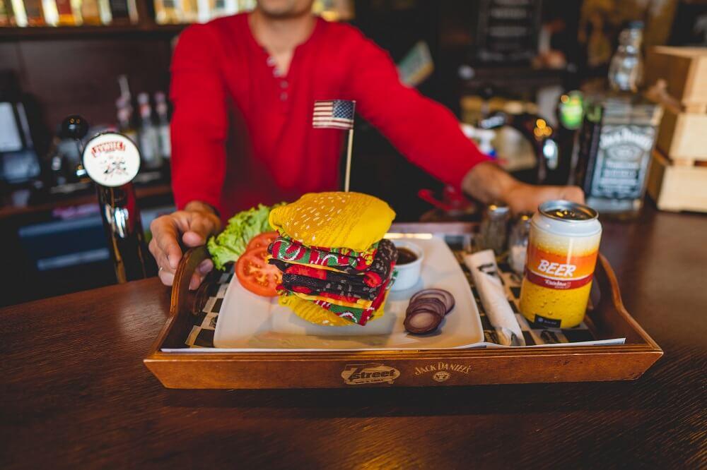 Burger Rainbowsocks